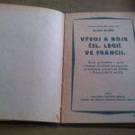 ELIÁŠ, Alois. Vývoj a boje čsl. legií ve Francii.