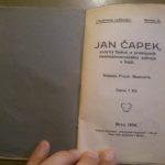 BEDNAŘÍK, František. Jan Čapek: vzorný Sokol a průkopník československého odboje v Itálii.
