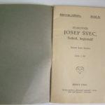 KUDELA, Josef. Plukovník Josef Švec: Sokol, legionář.