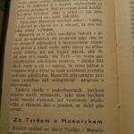 KUDELA, Josef. Tyrš a Masaryk.