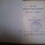 GROH, Vladimír. Úcta Svatováclavská