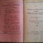 MEDEK, Rudolf. Památce prvního ministra vojenství Československé republiky