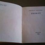 PAPOUŠEK, Jaroslav. Zborov.
