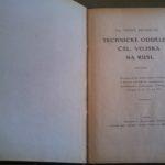 PECHÁČEK, František. Technické oddělení čsl. vojska na Rusi.