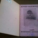 LOUBAL, František. Josef Kudrna