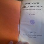 ŽILKA, František. Dokončit dílo Husovo!