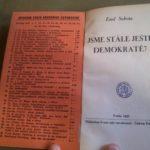 SOBOTA, Emil. Jsme ještě stále demokraté?
