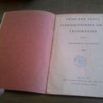 První rok práce Československé obce legionářské